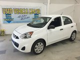 2015 Nissan Micra S NOW AT OUR MAZDA USED VEHICLE LIQUIDATION CENTRE IN BERWICK!