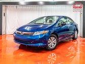 Honda Civic Sdn DX**GROUPE ÉLECTRIQUE**SHERLOCK**JAMAIS ACCIDENTÉ* 2012