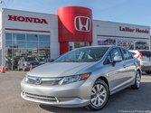 2012 Honda Civic LX +GARANTIE 10 ANS OU 200 000 KM