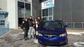 Félicitations Monsieur Doucet Couture pour votre Mazda 3