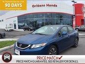 2013 Honda Civic EX,SUNROOF,HEATED SEATS,