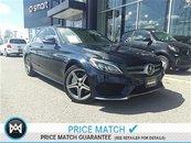 2015 Mercedes-Benz C400 Premium pkg, Intelligent drive pkg