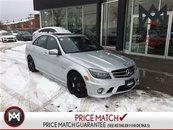 Mercedes-Benz C63 AMG AMG PERFORMANCE PKG, MEMORY PKG, AVANTGARDE EDITION, 6.2L, C63! 2010