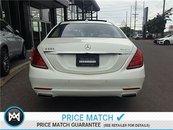 2014 Mercedes-Benz S550 Advanced driving assistance pkg, Premium pkg