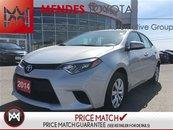 2014 Toyota Corolla LE, BACKUP CAM, HEAT SEATS, TOUCH SCREEN