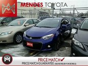 Toyota Corolla SPORT, HEATED SEATS, USB, BACKUP CAM 2014
