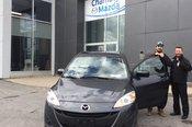 Félicitations M. Dutton pour votre achat chez Chambly Mazda