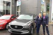 Merci Mme Dufresne de la confiance apportée à Chambly Mazda lors de l'acquisition de votre nouvelle Mazda CX5 2017