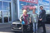 Félicitations M. Et Mme Guimond pour votre nouvelle Mazda 3 2017