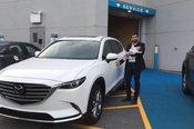 Félicitation Madame Marculescu pour votre nouvelle Mazda CX9 2017