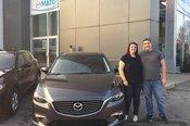 Félicitations Madame Rollin pour votre nouvellle Mazda 6 2017