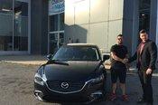 Félicitations Monsieur rousseau pour votre nouvelle Mazda 6 2017