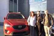 Merci Mme Lapointe de votre confiance envers Chambly Mazda