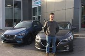 Congratulations MR Wood for tour new Mazda