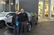 Félicitations Madame Leduc pour votre nouvelle Mazda CX5 2018