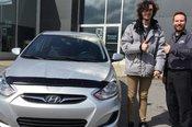 Félicitations à Anthony St-Pierre Carrier pour sa nouvelle voiture