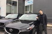 Félicitations à MonsieurMéthot pour votre nouvelle Mazda CX5 2018