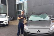Félicitations pour votre Mazda 3