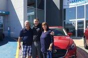 Félicitations Madame Vézina pour votre nouvelle Mazda3 Gt