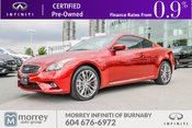2014 Infiniti Q60 Coupe AWD Sport Technology Pkg Coupe No Accident Claim!