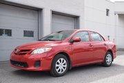 Toyota Corolla TOUT ÉQUIPÉ AIR VITRE PORTES SIÈGES CHAUFFANT 2013 UN SEUL PROPRIO JAMAIS ACCIDENTÉ