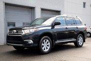 Toyota Highlander 4WD 7 PASS TOUTE ÉQUIPÉ BAS KM'S 2013 UN SEUL PROPRIO JAMAIS ACCIDENTÉ
