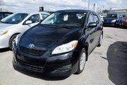 Toyota Matrix TOUTE ÉQUIPÉ AIR PORTES VITRES 2012 UN SEUL PROPRIO JAMAIS ACCIDENTÉ