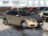 2014 Chevrolet Cruze 1LT  - Bluetooth -  OnStar - $120.04 B/W