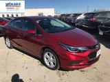 2018 Chevrolet Cruze LT  - Bluetooth -  Heated Seats - $164.67 B/W