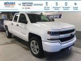 2017 Chevrolet Silverado 1500 Custom 4X4, DOUBLE CAB, 4X4, 5.3L V8  - $224.80 B/W
