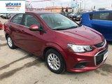 2018 Chevrolet Sonic LT  - Bluetooth - $135.73 B/W