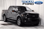 2013 Ford F-150 FX4 Supercrew 4WD Luxury With Leather, Moonroof &