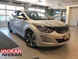 2016 Hyundai Elantra GLS *ACCIDENT FREE*