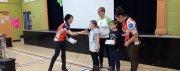 L'équipe Subway-Groupe Vincent remet 26 900$ aux écoles primaires du coin! chez Groupe Vincent à Shawinigan et Trois-Rivières