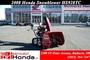 2012 Honda Power Equipment HSS724TC Snowblower