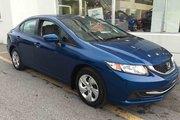 Honda Civic LX 2015 *69$/SEM*GARANTIE 3 ANS/65 000 KILOMÈTRES*