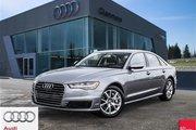 2016 Audi A6 2.0T Technik quattro 8sp Tiptronic Functionality Meets Comfort - Audi A6
