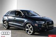 2015 Audi Q3 2.0T Technik quattro 6sp Tiptronic 2015 Blue SUV - 31,866 km