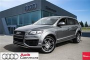 2015 Audi Q7 3.0T Sport quattro 8sp Tiptronic Winter tires & rims included!