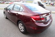 2015 Honda Civic LX w/factory remote start, $129.49 B/W