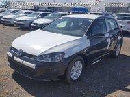 2017 Volkswagen Golf Trendline  - Bluetooth -  Heated Seats - $150.46 B/W