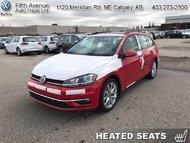 2018 Volkswagen GOLF SPORTWAGEN Comfortline DSG 4MOTION  - $203.94 B/W
