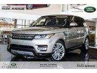 2016 Land Rover Range Rover Sport DIESEL Td6 HSE   NAV + MAGS 21'' * Certifié*