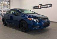 Honda Civic Cpe 2012 LX COUPE / BAS KILOMETRAGE / GARANTIE / GARANTIE / IMPECCABLE