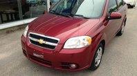 Chevrolet Aveo LT 2011 Automatique, 4 portes et l'air climatisé; il ne manque que vous