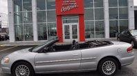 Chrysler Sebring LX CONVERTIBLE JAMAIS SORTIE L'HIVER 2004