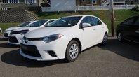 Toyota Corolla LE ÉCO La version ÉCO est celle avec la meilleur économie d'essence de sa catégorie. 2014