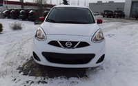 2015 Nissan Micra S FWD, 5-Speed, ABS, Cloth, LOW LOW KM!!