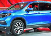 Honda présente le nouveau Pilot 2016