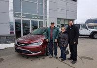 Un gros merci à M. et Mme Viateur Levesque pour l'achat de votre nouvelle voiture.